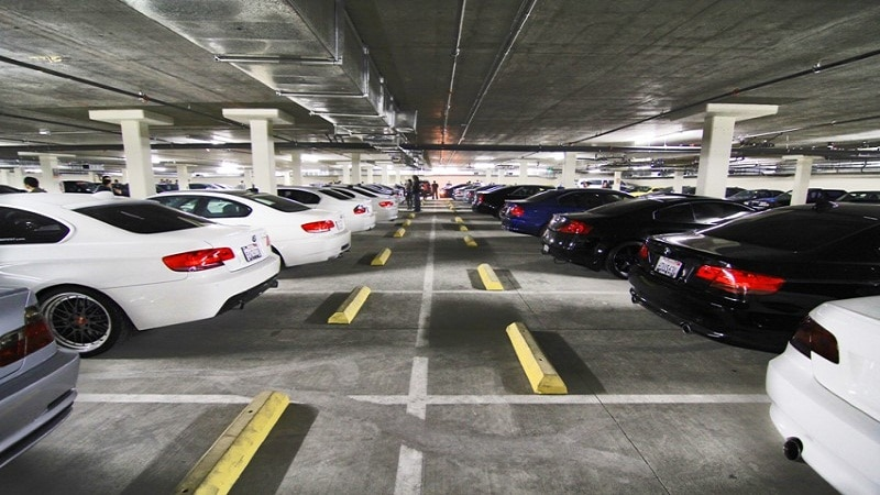 проект парковки