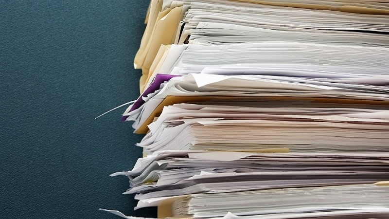 Как правильно прошивать документы