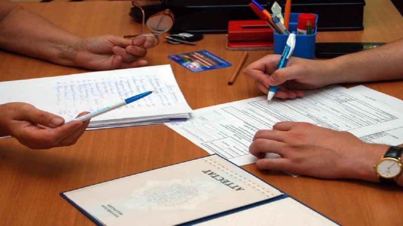 пример описи документов