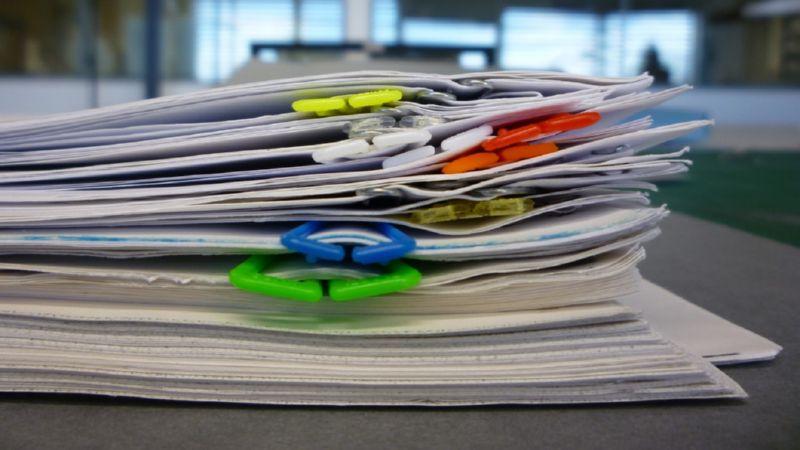скачать образец описи передаваемых документов