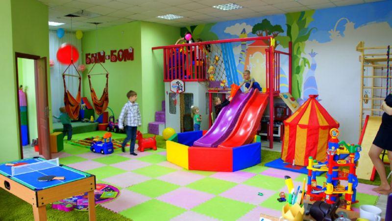 детское кафе с игровой комнатой