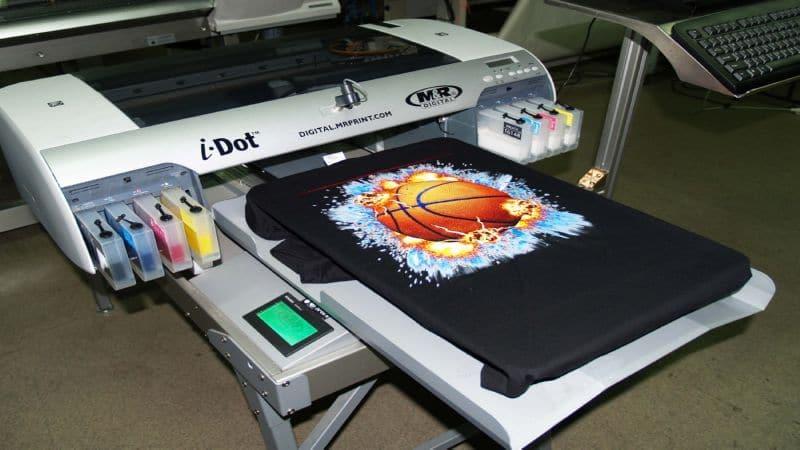 станок для печати на футболках