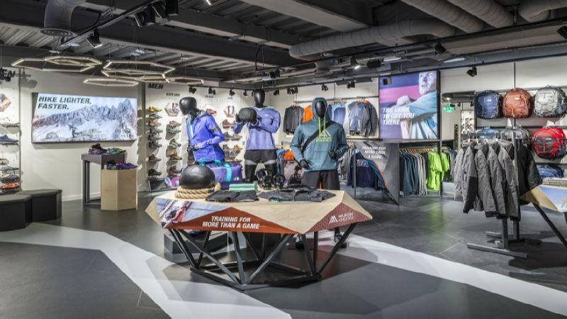 открытие спортивного магазина