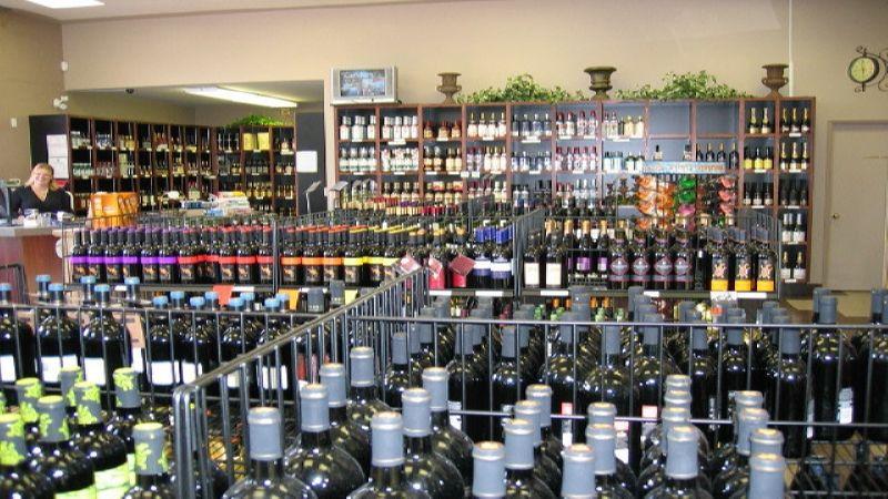 магазин по продаже алкоголя