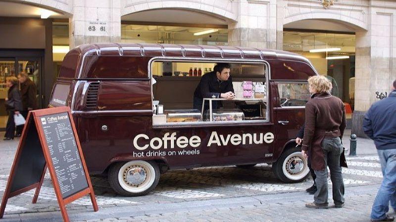 оборудование для мобильной кофейни-