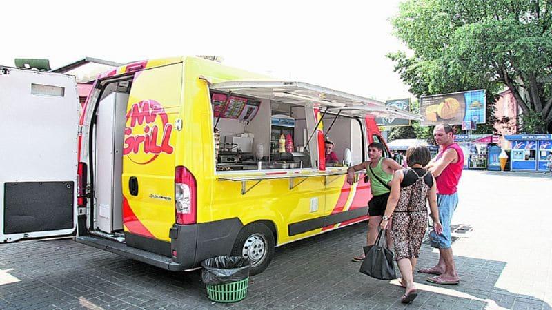 купить передвижное кафе на колесах